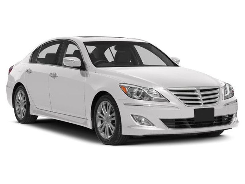 Our mid-sized Hyundai Genesis Sedans easily accommodate four passengers, however are ideal for two passengers and offer ample trunk space — large enough to accommodate 2 persons luggage easily.